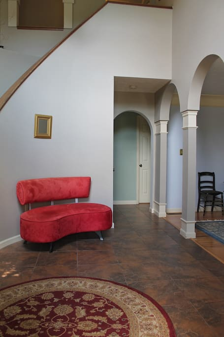 Downstairs entrance