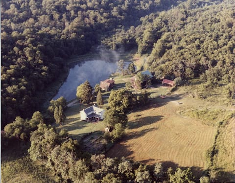 Rural 1860's farm house