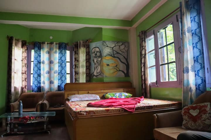 Destination Of Peace, Kasol | Private Bedroom