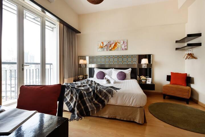 Spacious Bedroom Suite at Bukit Bintang KL