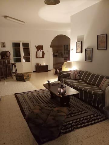 Charmant étage de villa à Kerkennah la douce