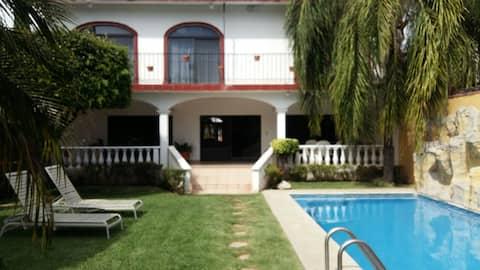 Casa de campo en el corazón de Yautepec