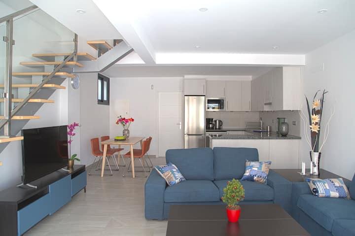 Idaira II spacieux nouveau appartement et garage