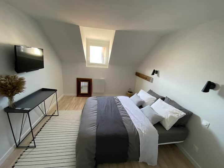 Superbe chambre centre Annemasse dans T4 NETFLIX