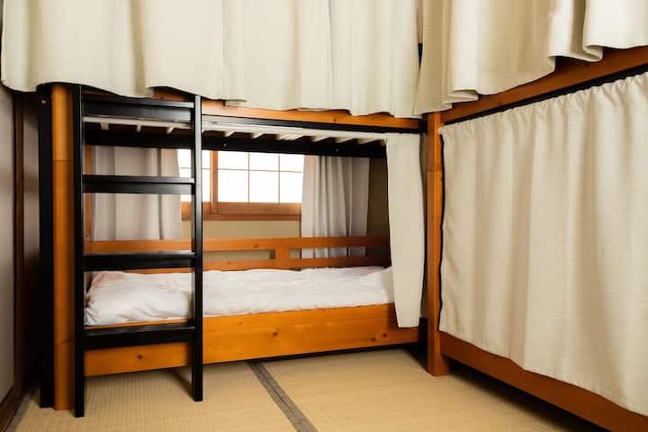 【ゲストハウスはじまり】女性専用ドミトリールーム