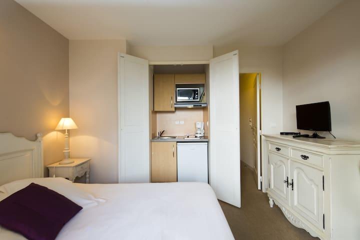 Studio Avec Spa A 500m Du Bassin Aparthotels For Rent In