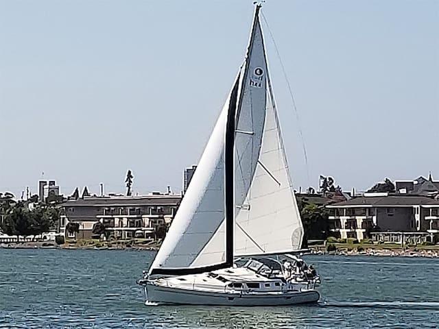 Sunny Sailing Yacht - Historic Oakland