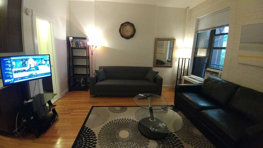 Beautiful 1 BD in UWS block from Central Park