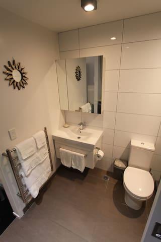 Bathroom - heated towel rail