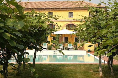 Charme apartament with pool near Verona - Spinimbecco - Apartmen