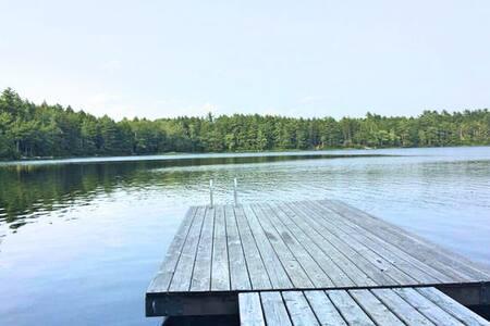 Ultra Private, Lakefront Cottage On Beaverdam Lake