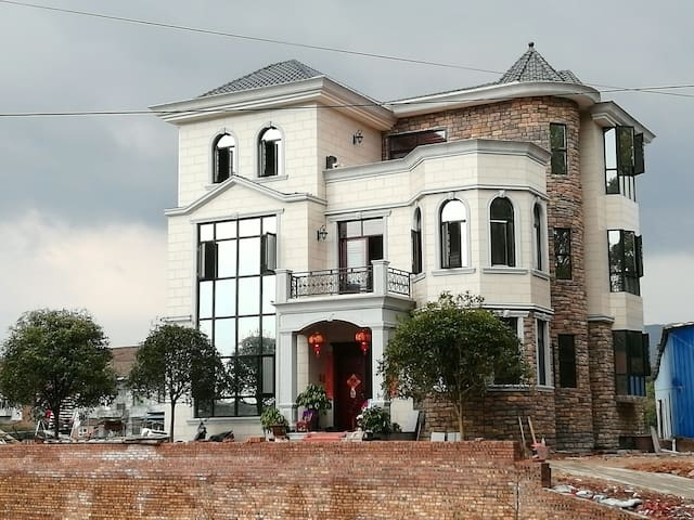 欧式地中海城堡式风格 高档装修 田园风格 可以提供宝马X5接送高档装修 - Zhuzhou - Dům