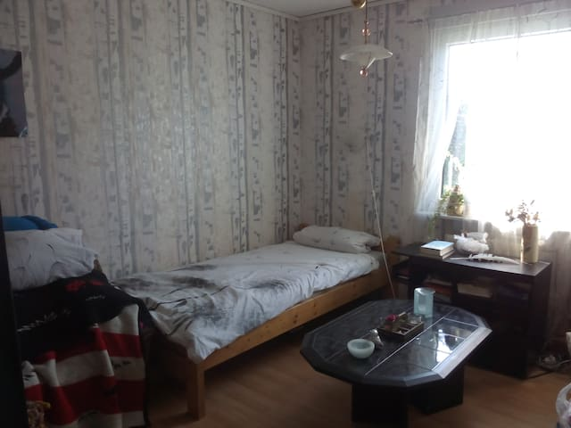 Cosy room in a house; village is near Schwerin - Seehof - Casa