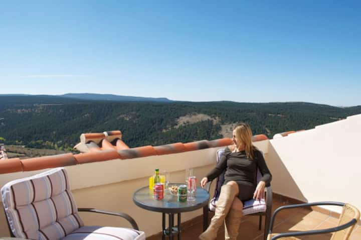 Apartment with 2 bedrooms in Gúdar, with WiFi