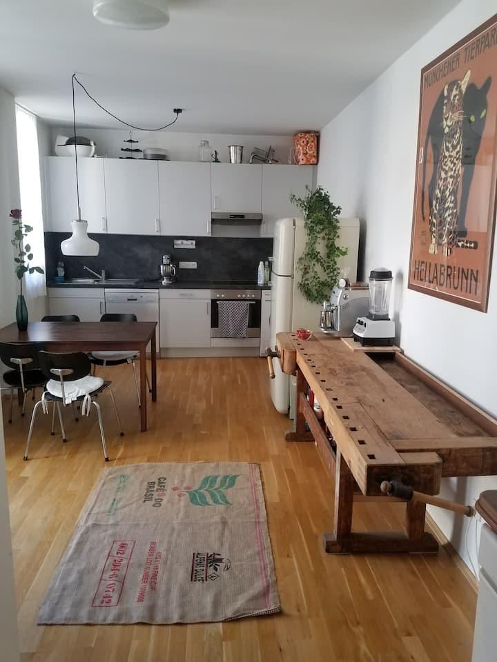 Stylische Wohnung im Szeneviertel Glockenbach (2D)