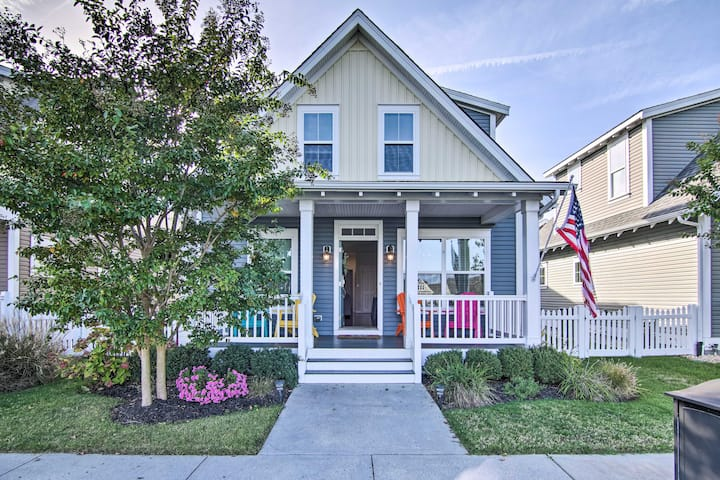 NEW! Millville Retreat - 5 Miles to Bethany Beach!