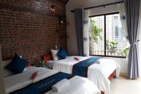 CENTER TAMCOC HOMESTAY - Deluxe Twin room