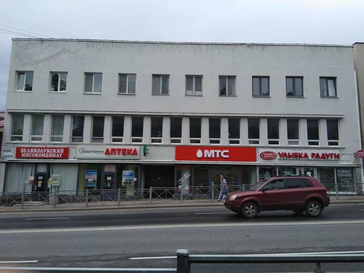 Квартира - студия в центре города Сортавала.
