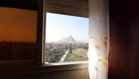 Appartamento vista piramidi &gite organizzate.