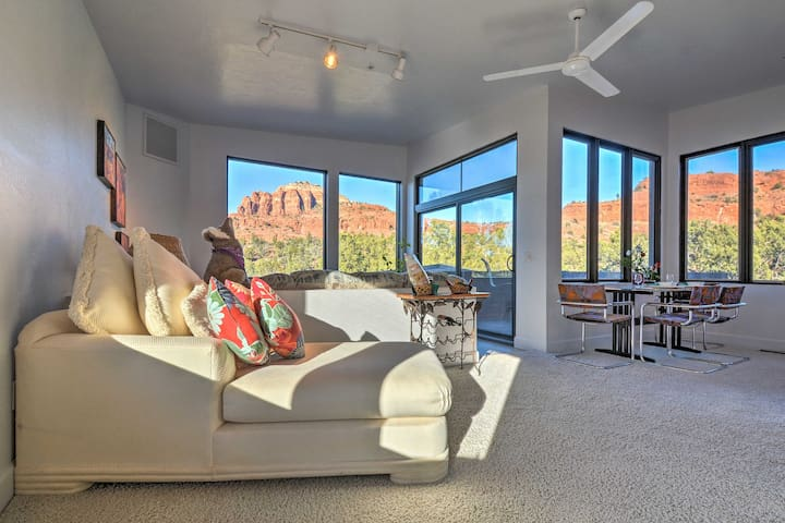 2-Acre Sedona Casita w/ Deck & Red Rock Views!