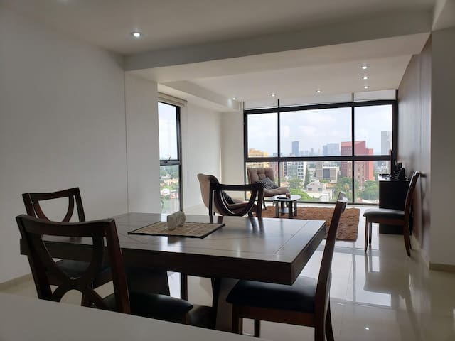 Private room in modern apartment in Chapultepec