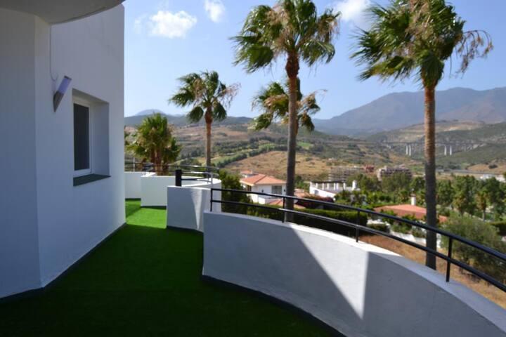 Estepona Golf apartamento encantador-Málaga - Estepona - Departamento