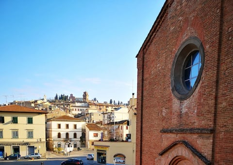 SAN FRANCESCO 1, a two-room with church view
