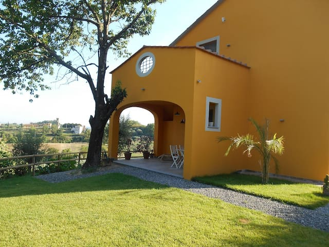 Villa apartment in organic wine farm