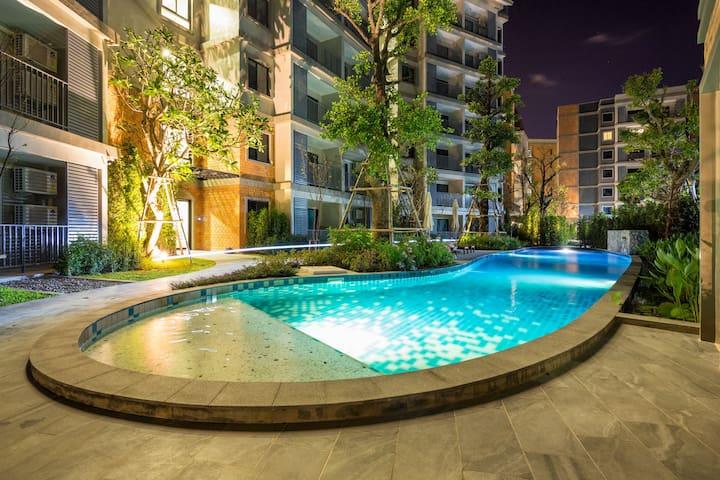 Pleasant 1 Bedroom Apartment @Nai Yang beach–250m