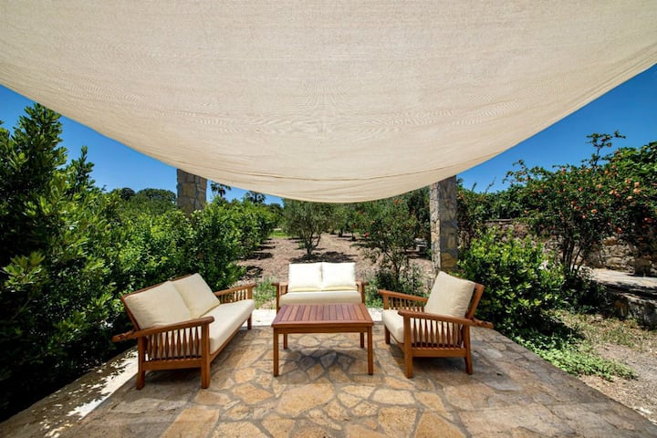 2 BR Stonehouse with Jacuzzi and Shared Pool in Bodrum