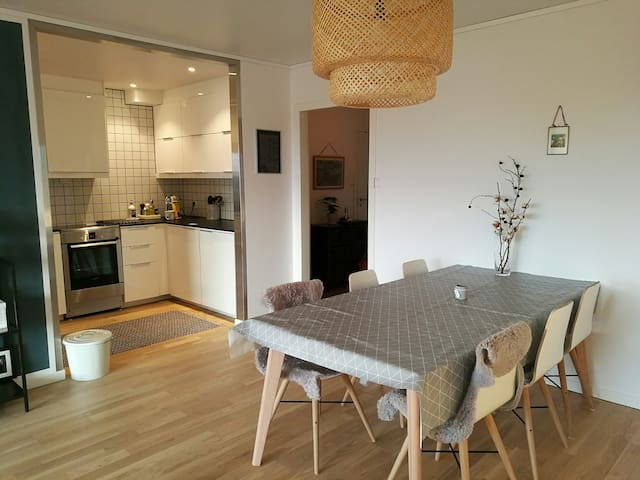 Nyoppusset leilighet, sentralt. - Haugesund - Apartament