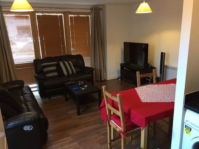 double room with communal parking and gym