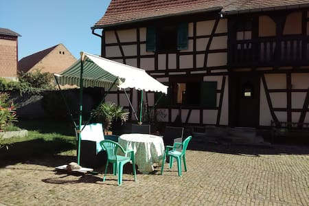 2 private rooms in friendly Alsace house - Berstett - Dům