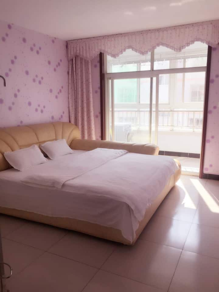 双一路大刘庄新园公寓两室一厅日租房