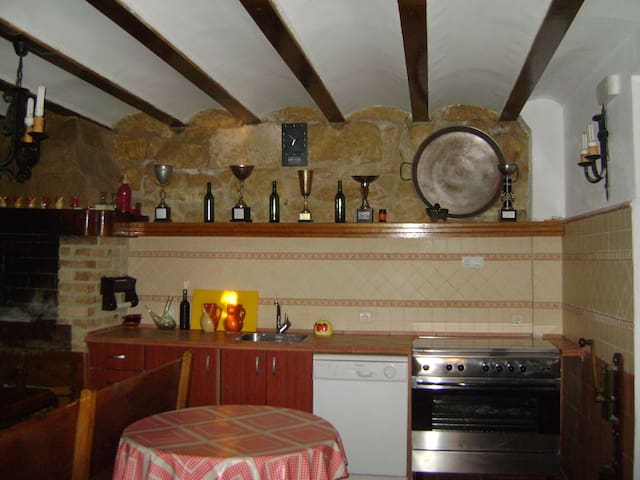 RUSTIC-STYLE APARTMENT IN A WINE CELLER - Rodezno - Huoneisto