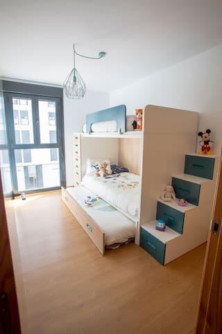 Dormitorio 3 Tres camas de 90x200