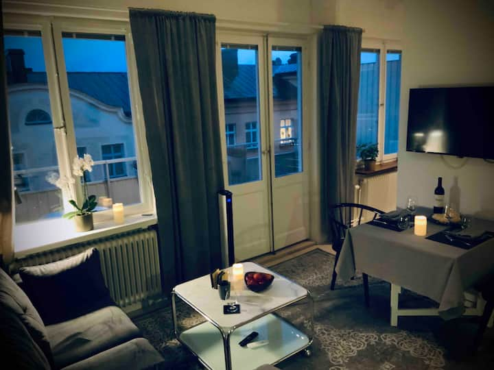 Studio SoFo, Sthlm city, Sea view, Culture area!