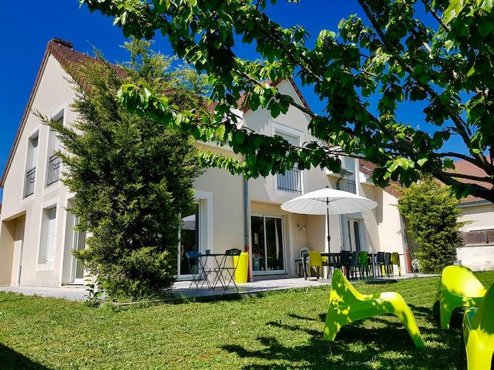 Villa Contemporaine en Bourgogne