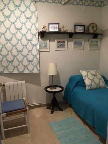 Habitación sencilla, con posibilidad de segunda cama pequeña