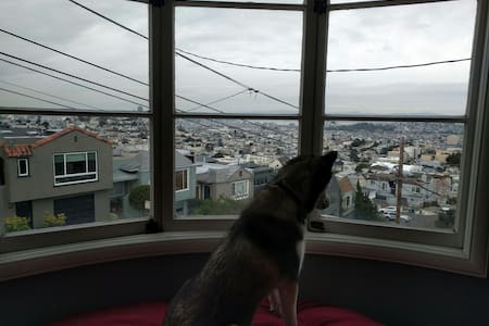 Noe Valley/Castro apt. with a view