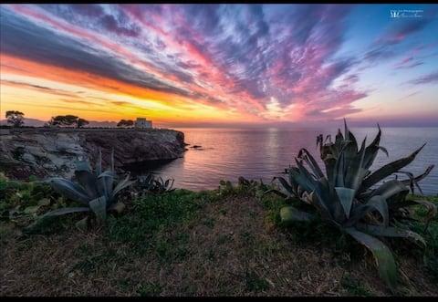 Terrazza  con vista -beautiful terrace view
