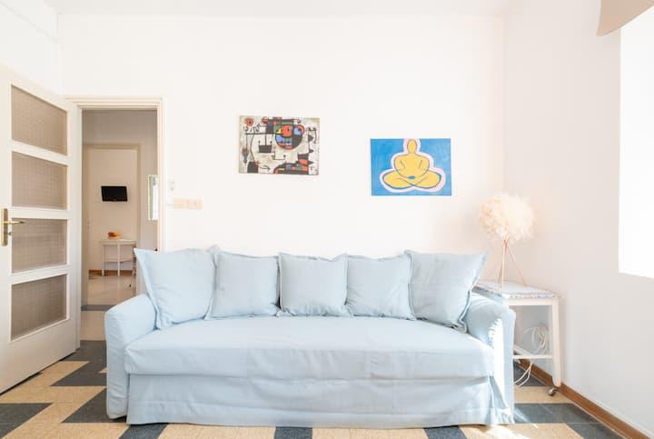 Delizioso appartamento per 4 con terrazzino