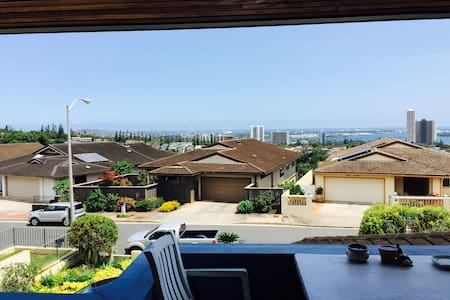 Pearl Harbor and ocean view home - Aiea