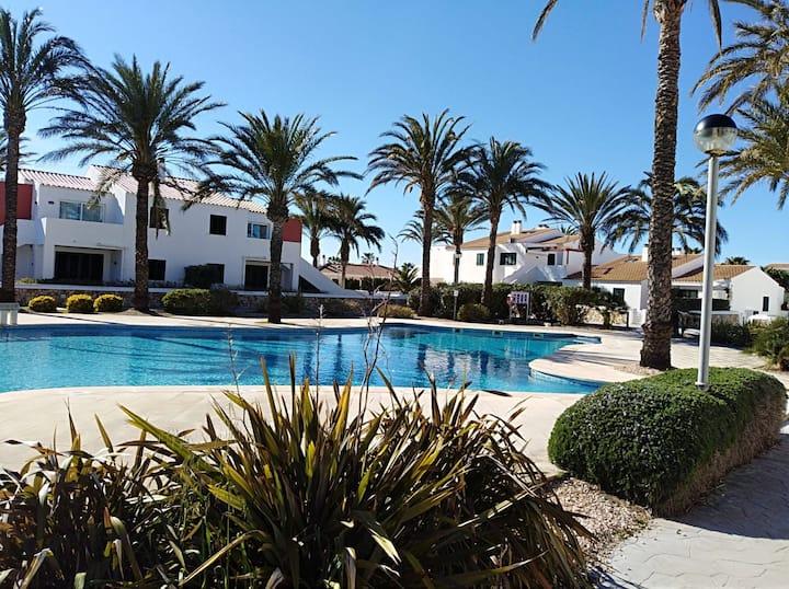 Apartamento con piscina en Son Blanc, Ciutadella