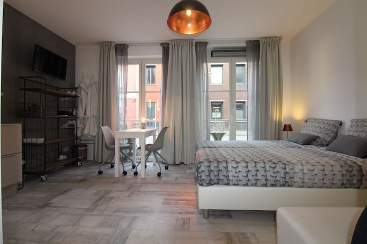 New 4 persons appartement in centre - Zwolle - Apartamento