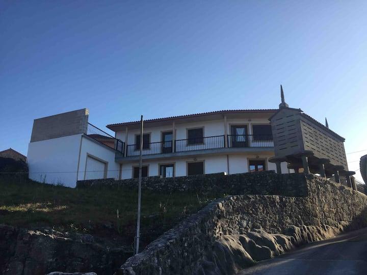 R. Casa con vistas en Lira -Carnota