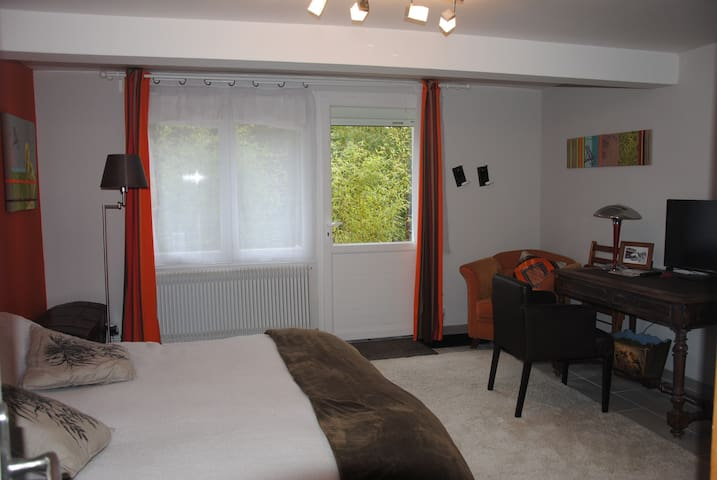 studio indep 30m2,10kmlyon,tt conf - Dardilly - Bed & Breakfast