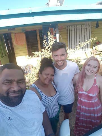 Experience Fiji leaving with a Fijian family