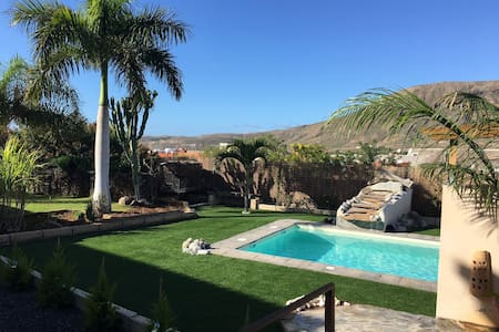 Apartment with Pool and BBQ in ground flor - Arona