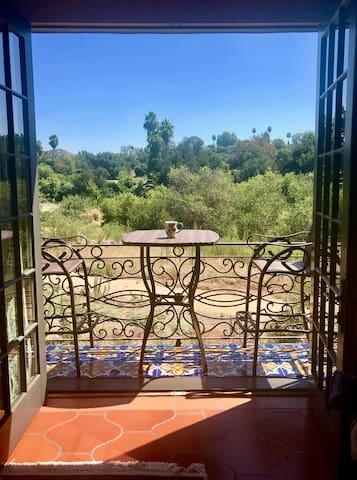 Your private balcony awaits you...surrounded by 7 acres of beauty.